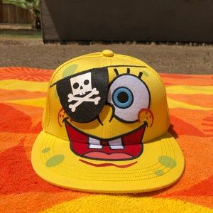 Yellow Spongebob Squarepants Hat